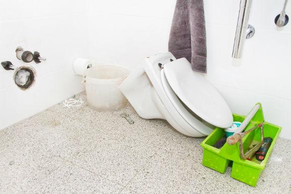 Comment changer un WC par un WC suspendu
